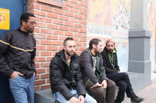 Stargate Backing Band , Live Cafe Julien , Marseille - Photo Fred reGGaeLover 2014