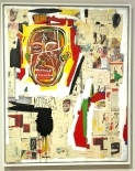 Jean Michel Basquiat - King of the Zulus' inspiré par Louis Armstrong